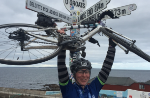 Cycling from Land's End to John O'Groats